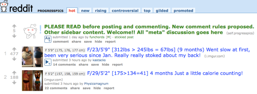Three Ways to Use Reddit for Weightloss